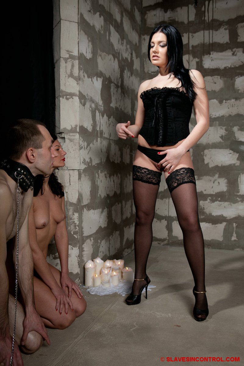 Bdsm xxx beautiful sub does not know when to shut up 4
